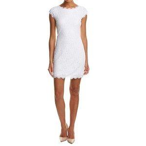 DVF Short Barbara Lace Dress NWT